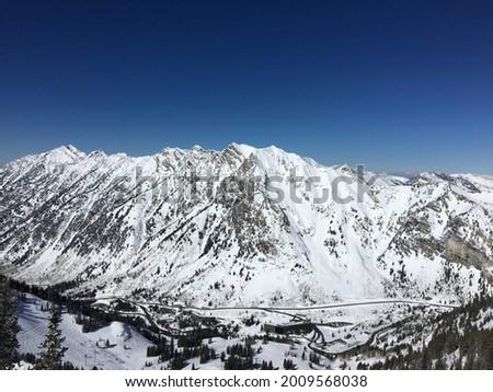 Mount Superior from Snowbird Resort Stock fotó ©