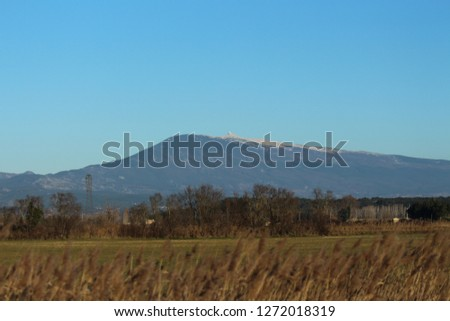 Mount Ventoux in France during winter #1272018319