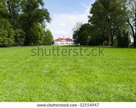 Mount Vernon Home of George and Martha Washington