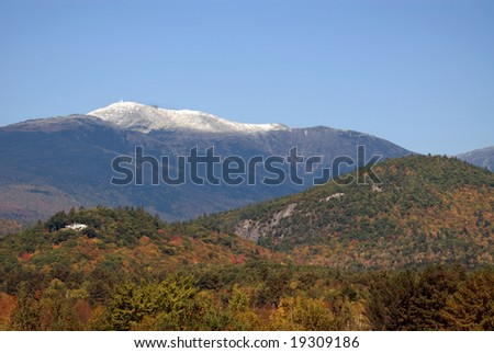 Mount Washington New Hampshire is the highest peak in the Northeastern United States at 6288 ft (1917 m).