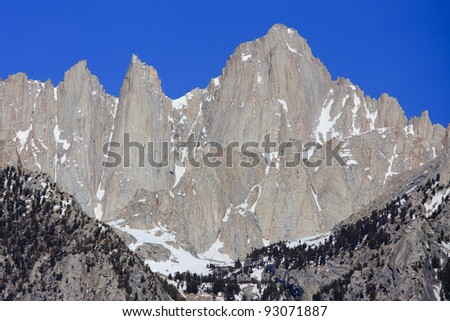 Mount Whitney, Eastern Sierra Nevada Mountains, California