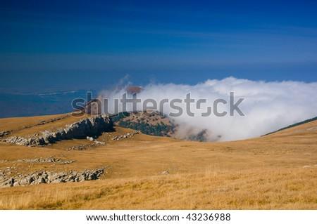 mountain backbone of Crimea