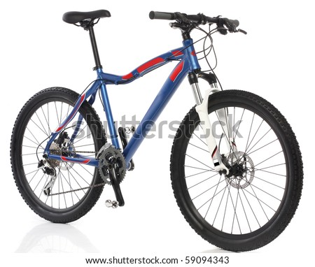 Mountain Bicycle over white background #59094343