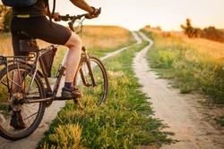 mountain bike sport athlete man riding outdoor