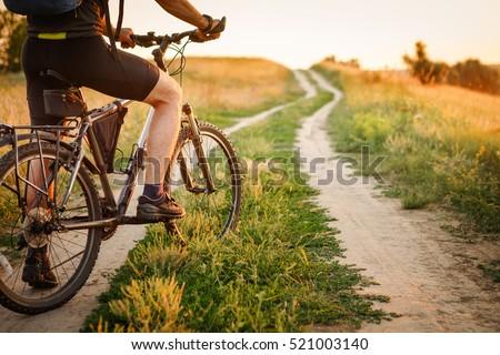 mountain bike sport athlete man ...