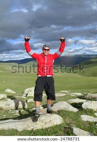 Mountain Biking Adventure in the Mongolian Mountains
