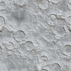 Mountain chains and craters of the Moon - seamless texture