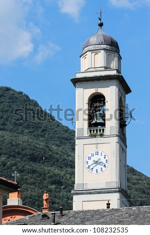 Mountain church in Italy