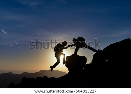 Mountain Climbing & team work
