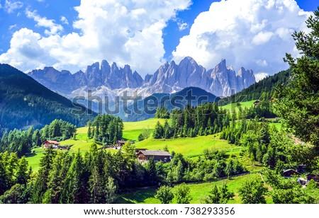 mountain green valley village...