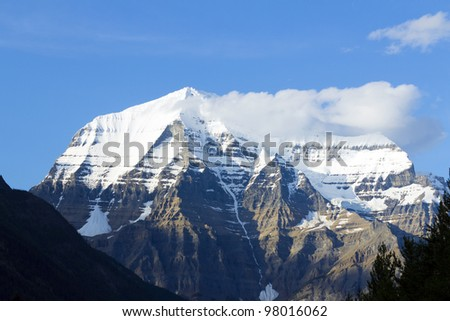 Mountain in Canada