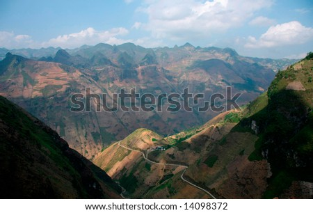 Mountain  in Vietnam