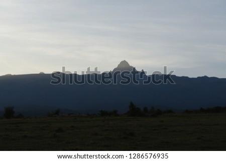 Mountain Kenya in Kenya