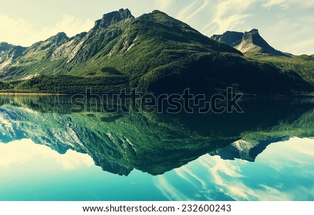 mountain lake #232600243