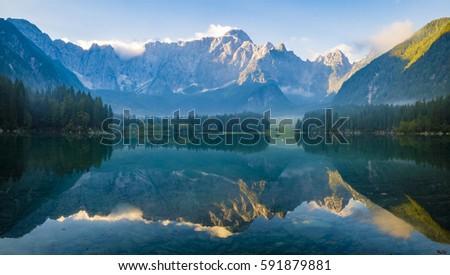Mountain lake #591879881
