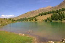 mountain lake called