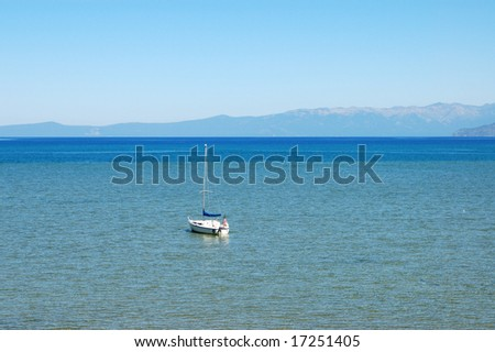 Mountain lake; South Lake Tahoe, California
