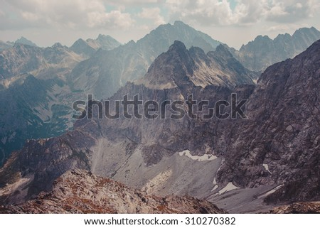 Mountain landscape #310270382