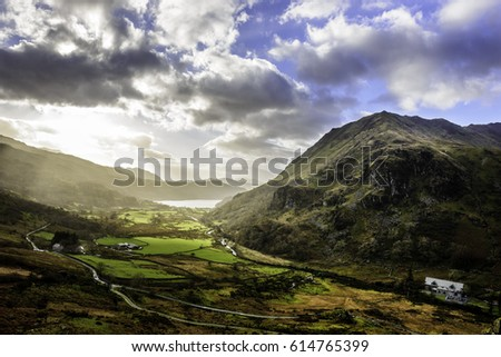Mountain landscape #614765399