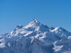 Mountain landscape. Great Caucasian ridge.