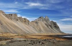 Mountain landscape on Iceland