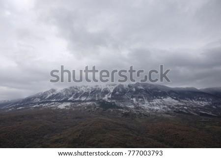 Shutterstock Mountain morrone snow