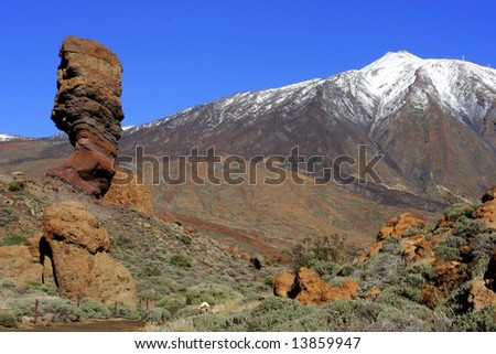 Mountain on Tenerife