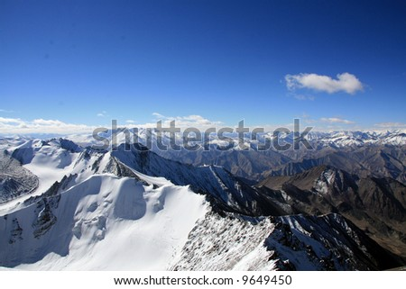 Mountain Peaks - Himalaya, Mountain Climb- Stok Kangri (6,150m / 20,080ft), India