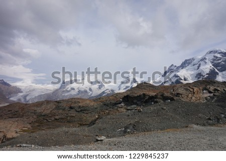 Mountain peaks of Switzerland #1229845237