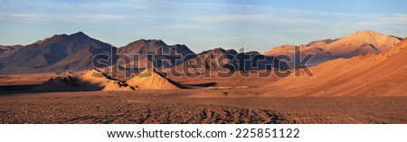 Mountain Plateau Puna, Northern Argentina - Shutterstock ID 225851122