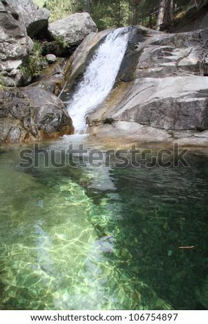 Mountain pool, Corsica, France