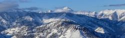 Mountain range in Sun Valley, Idaho