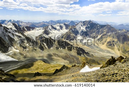 Mountain range landscape #619140014