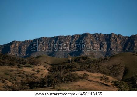 Mountain Ranges Flinders Ranges National Park South Australia #1450113155