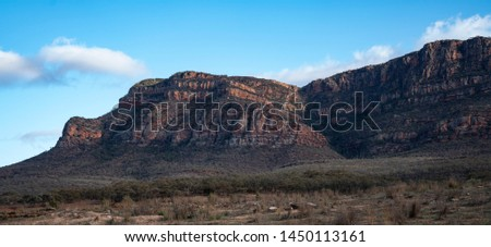 Mountain Ranges Flinders Ranges National Park South Australia #1450113161