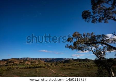 Mountain Ranges Flinders Ranges South Australia  #1450118927