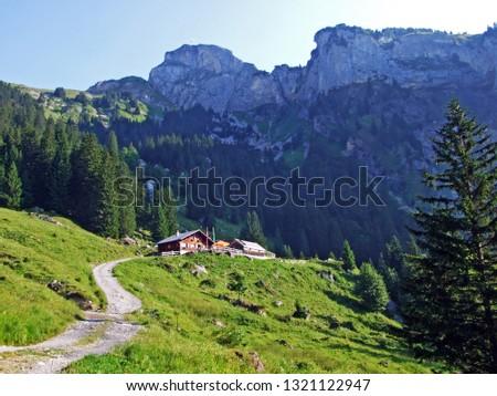 Mountain restaurant Alp Rohr or Bergrestaurant Alp Rohr or Bergrestaurant Alp Rohr, Sennwald - Canton of St. Gallen, Switzerland #1321122947