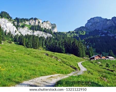 Mountain restaurant Alp Rohr or Bergrestaurant Alp Rohr or Bergrestaurant Alp Rohr, Sennwald - Canton of St. Gallen, Switzerland #1321122950