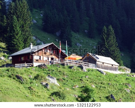 Mountain restaurant Alp Rohr or Bergrestaurant Alp Rohr or Bergrestaurant Alp Rohr, Sennwald - Canton of St. Gallen, Switzerland #1321122953