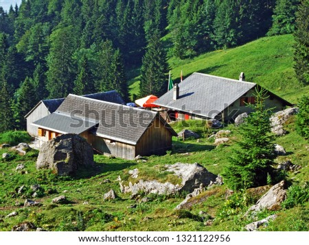 Mountain restaurant Alp Rohr or Bergrestaurant Alp Rohr or Bergrestaurant Alp Rohr, Sennwald - Canton of St. Gallen, Switzerland #1321122956