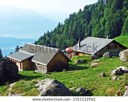 Mountain restaurant Alp Rohr or Bergrestaurant Alp Rohr or Bergrestaurant Alp Rohr, Sennwald - Canton of St. Gallen, Switzerland #1321122962