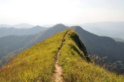 Mountain ridge way