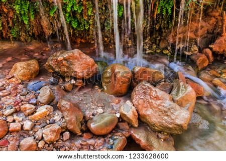 Mountain river. Nature and landscapes. #1233628600