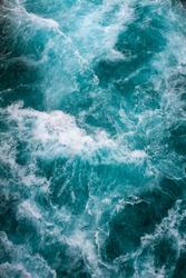 Mountain River, Rushing Water Flowing Texture, New Zealand
