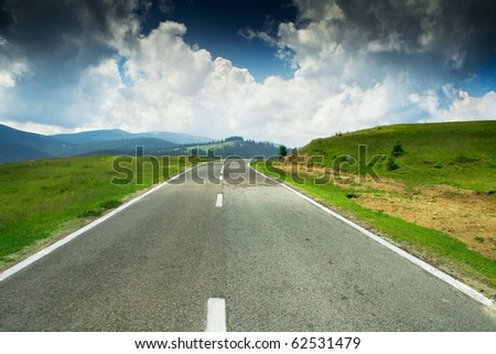 Mountain road #62531479
