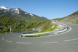 Mountain Road - Picos de Europa - Spain