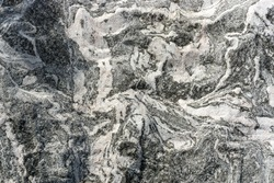 Mountain rock local abstract texture pattern, black and white tone.