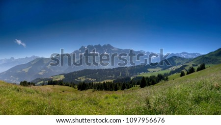 mountain rose the Alps #1097956676