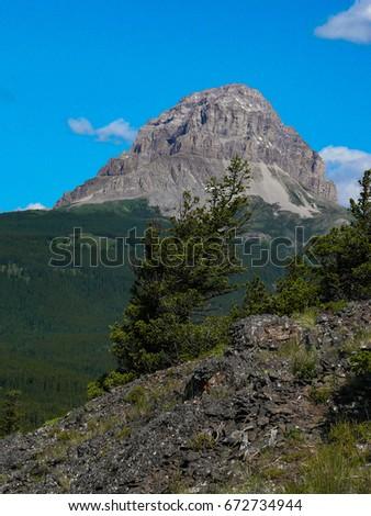 mountain scenery #672734944