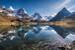 Mountain scenery, Andes, Bolivia